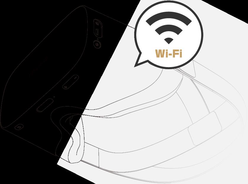 DPVR-4Dを店舗に持ち込んでWi-Fiに接続するだけで視聴可能です!
