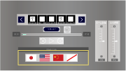 スマホ版Dimension Player言語選択画面